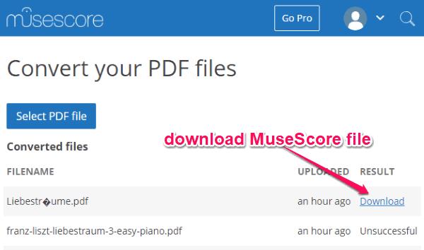 Musescore Pro