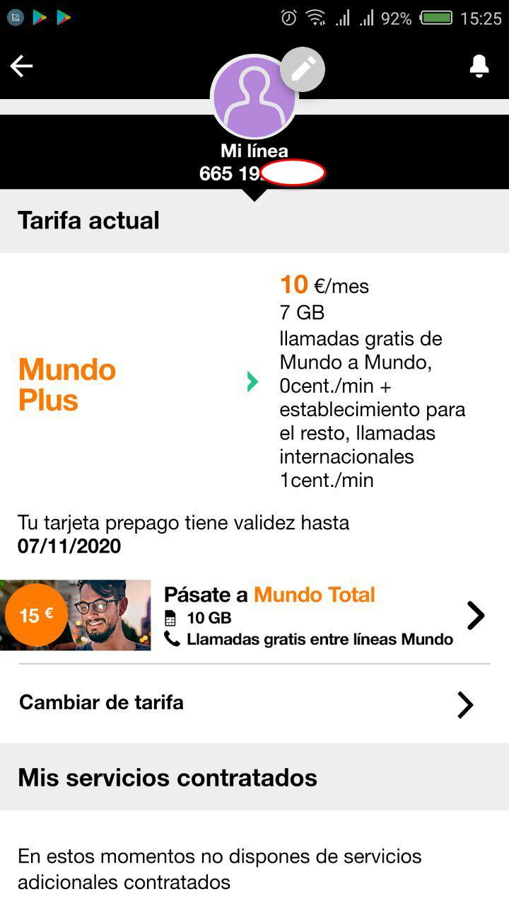 Настройка приложения Mi Orange