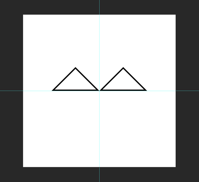 4 two triangles for logo1