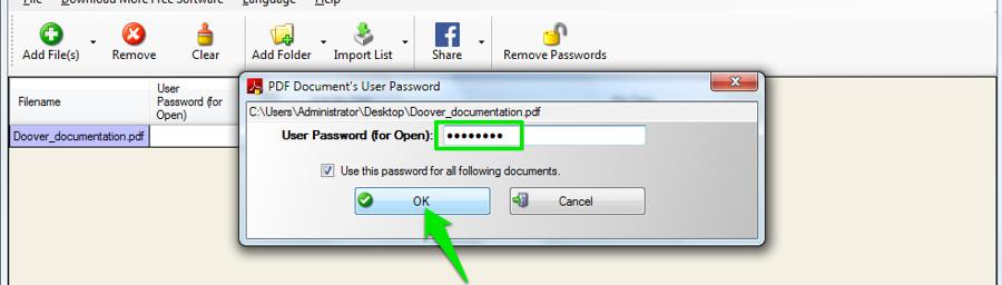 пароль на Pdf файл - фото 4