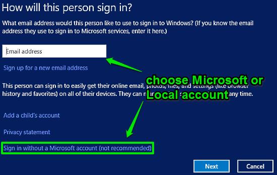 Как в windows 10 сделать нового пользователя