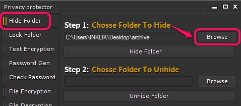 Hide-Folder-option1