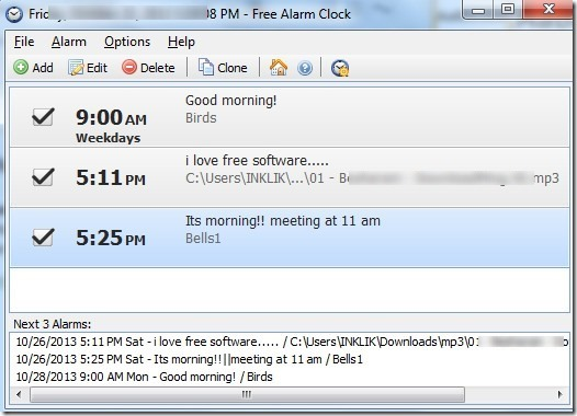 Free-Alarm-Clock-interface thumb1